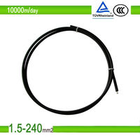 PV Copper Solar Power Cable DC Solar Cable 4mm2