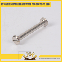 Nickel wire binding book screw length 20mm