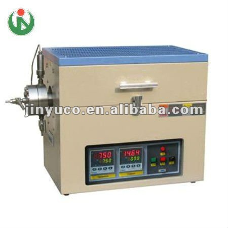 CE quality high pressure vacuum annealing tube furnace