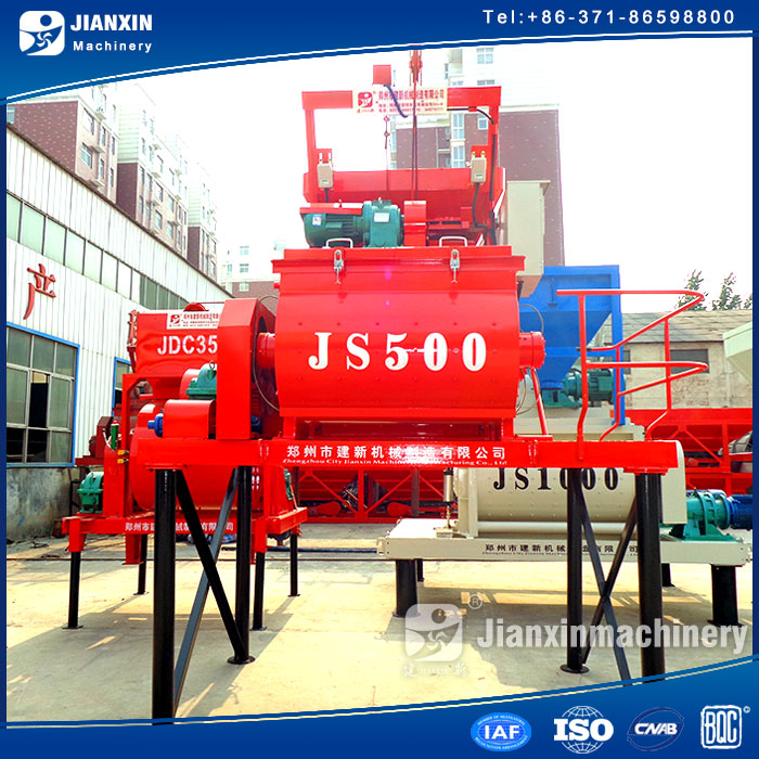 environmental protection hot sale concrete mixer in dubai
