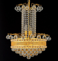 Mid-East crystal golden pendant lamp/lighting Gold chandelier with clear crystal ball & English golden pendant light CR5206