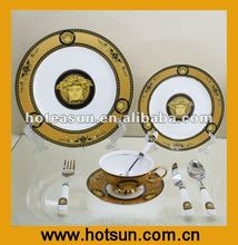 New 8pcs Fine Bone China Dinnerware 2A655