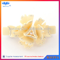 Acetate Material Hair Clips With Spring Clip New Arrival