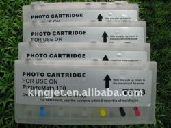 refillable ink cartridges for Epson picturemate 100
