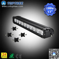 "17"" 100W Car Roof Fog Lamp 4x4 Auxiliary Light Offroad LED Light Bar"