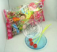 Fancy Rose Flower Shape Sweet Hard Candy Lollipop