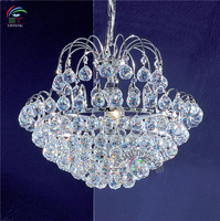 New design crystal pendant lamp crystal led pendant light lamp crystal drop pendant lamp