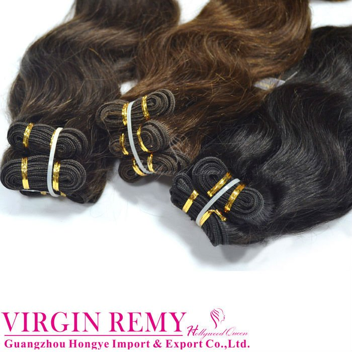 Sexy natural body wave indian remy hair