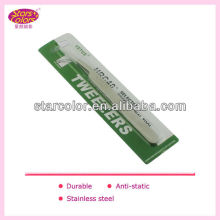 2013 Korea hotest Alibaba fr tweezers Factory price T-011