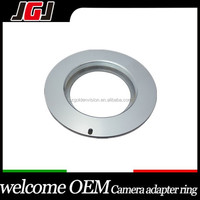 Custom Lens Mount Adapter For M42 Lens To For Canon EOS EF Rebel XSi XTi XT Mark II 7D Silver