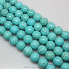 8mm round cheap Synthesis prices turquoise stones beads