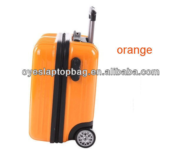 colorful 16 inch abs / pc cheap mini suitcase