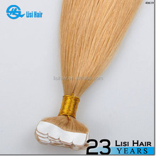 new arrival alibaba certified Italian glue cheap virgin 2.5g wholesale skin weft pu glue virgin tape hair extensions