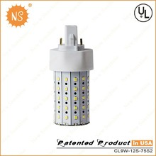 Gx24 base 1000limens 360 degree 9W 10W led cfl replacement bulb