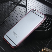 Clear TPU Case for iPhone 6s, for iPhone6 Hard Case tpu+pc, Cell Phone Cover for iPhone6