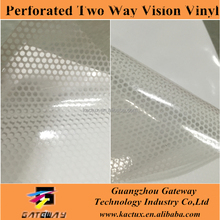 Perforated Two Way Vision vinyl sticker