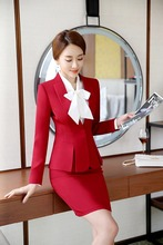 Women Ladies Custom Made Office Business Tuxedos Formal Work Suits Formal Gray Blazer