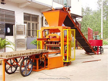 Africa hot sale Paving Block Making Machine QTJ4-26 high profitable business zenith block machine germany
