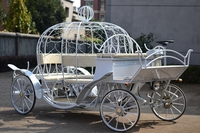 Royal electric wedding carriage