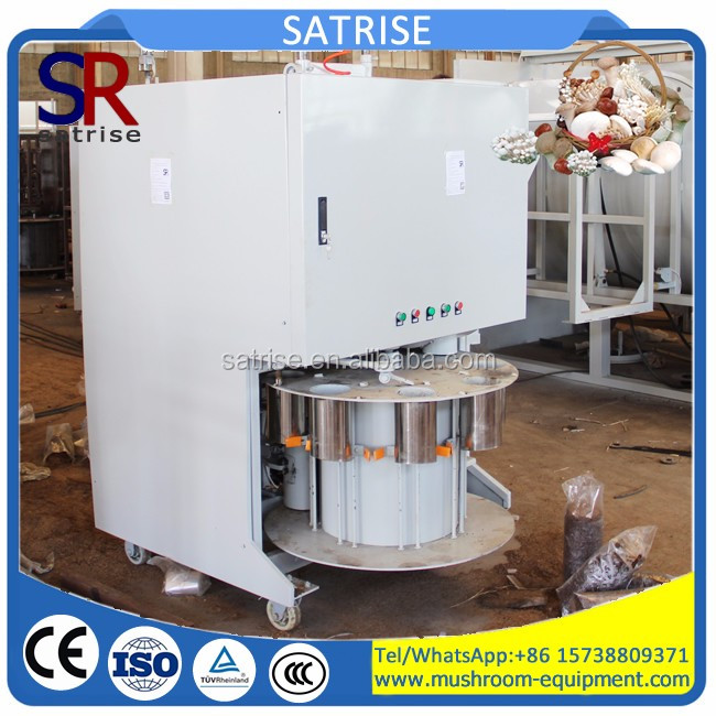 competitive price automatic edible fungus mushroom growing bag filling machine