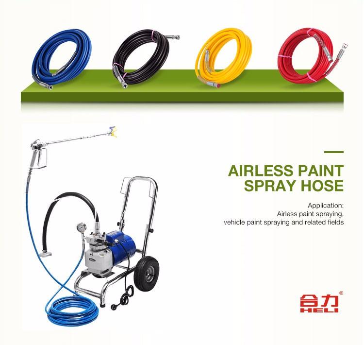 Spray blue paint empty lip gloss hose