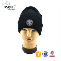 Top quality knitted beanie hat factory in china