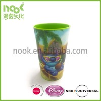 250ml 8oz 3D Lenticular Kids Personalized Plastic Mugs