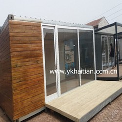 Easy Assembly Low Cost New Mobile Home Manufacturer prefabricated sandwich panel wooded container house price