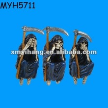 Grim reaper resin crafts shelf sitter