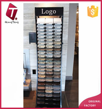 The marble tile display rack for showroom