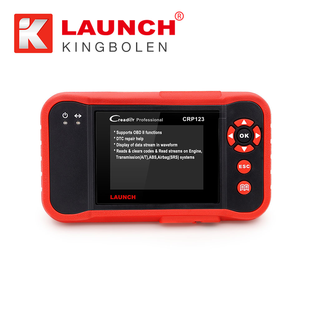 New LAUNCH Creader CRP123 Code Scanner Creader CRP123 VII+ Support Multi Brand Diagnostic Tool Creader 7+ Diagnostic Software