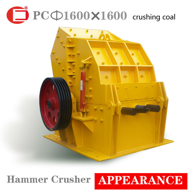 Impact-resistant coal hammer crusher production