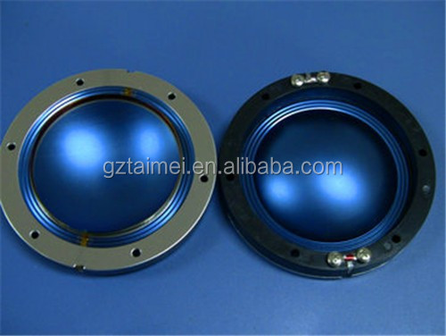 blue titanium speaker diaphragm parts