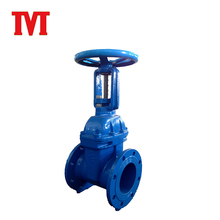 long stem pneumatic knife cast iron gate valve