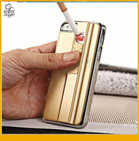 For iPhone 4 4s 5 5s Aluminum Case Wild Fire Creative Cigarette Lighter Cover Charging Case