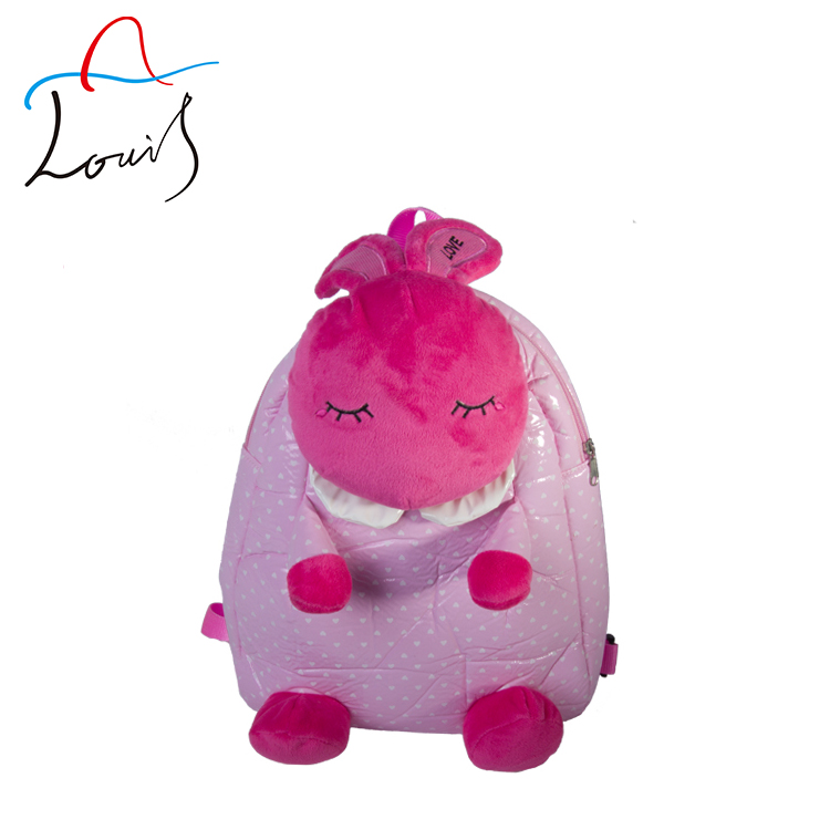2014 new promotional kids zoo animal backpack