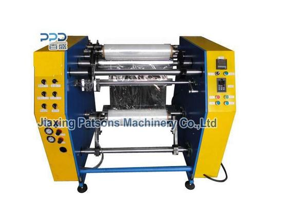High Performance Semi Automatic Coreless Stretch Film Rewinding Machine
