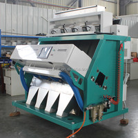Automatic Rice CCD Colour Sorter/Plastic Flake Color Sorter Machine with High Quality