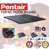 PENTAIR PVC COVER FOR TRITON 2015 TRI-FOLD PICKUP TRUCK TONNEAU COVER CAR PARTS