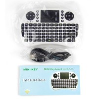 2.4GHz RF Wireless Mini Keyboard with Touchpad Mouse Combo for HTPC, Windows OS PC, Laptop, Linux, Ps3, XBOX360