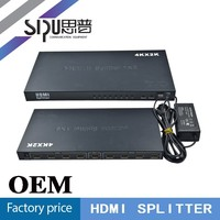 SIPU HDMI 2.0 support 4kx2k@60hz 8 ports HDMI splitter