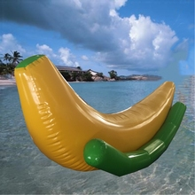 inflatable water toy for water game inflatable banana water seesaw