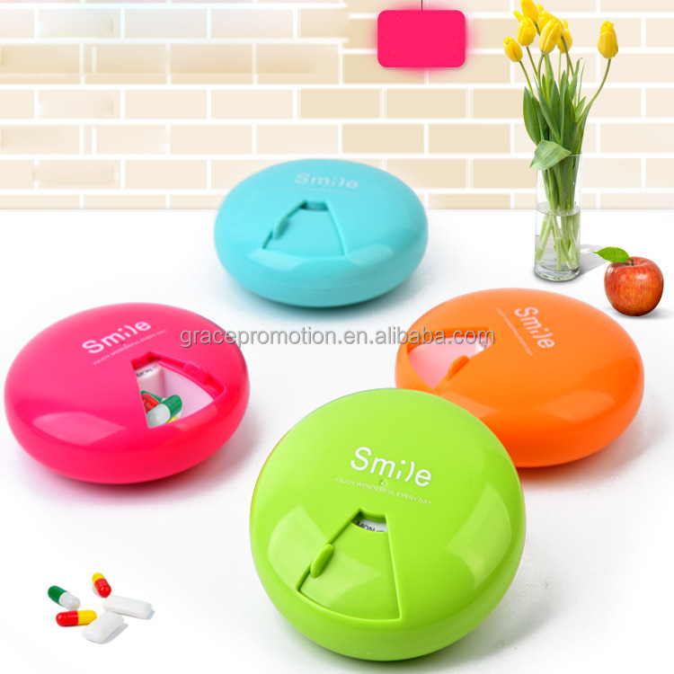 Promotional Candy Color Pill Box With Custom Logo