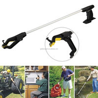 Strong Aluminium Magnetic Litter Pick Up Grabber Tool With Long Handle