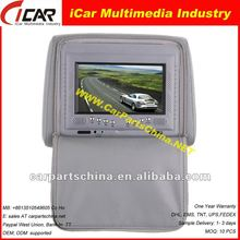 best quality !7 Headrest 7 inch car dvd with CE/FCC