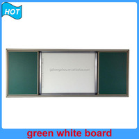 classroom green board and white board