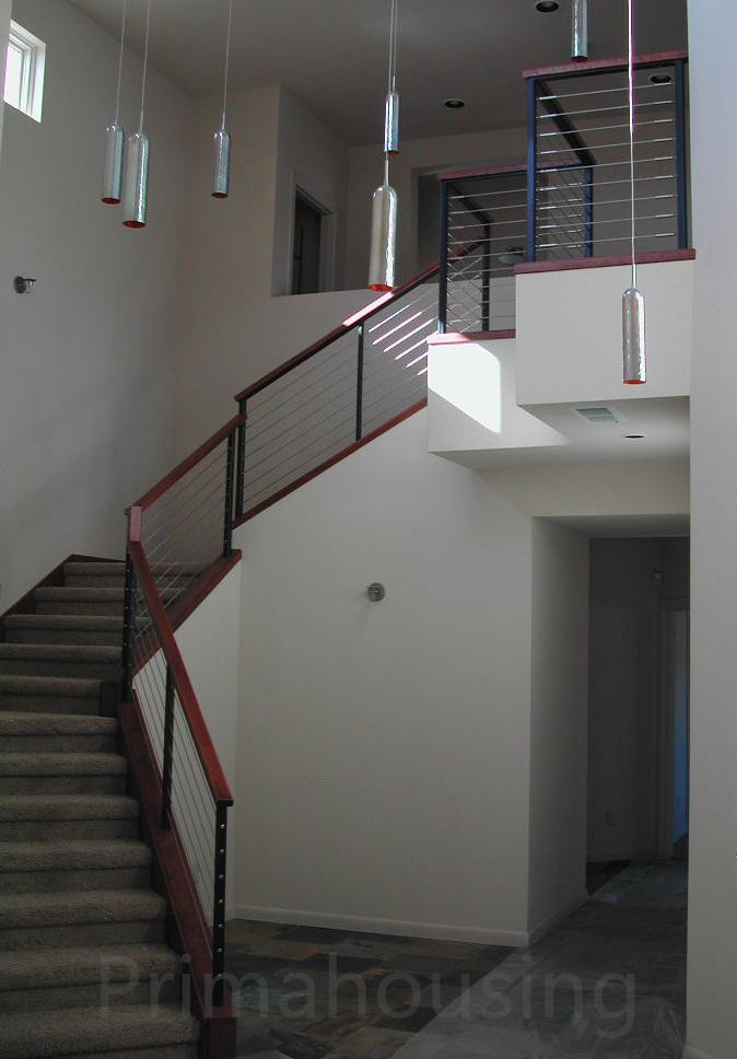 Stainless Steel Wood Interior Cable Railing Indoor Glass Stair Railings Buy Cable Railings For