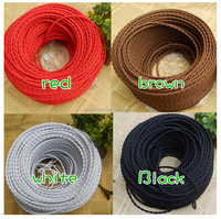 High quality Fabric Cable Braided/Textile Wire Cord/Fabric Cord covers