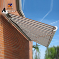 ZONGHENG Distinctive Aluminum White Retractable awning for balcony