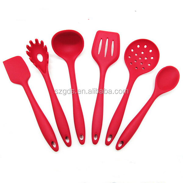 Premium Silicone Kitchen Utensil Set New 6 Piece Cute Cooking Tool Set Buy New 6 Piece Cute